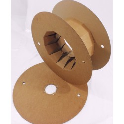 Size 1 - Cardboard Cable Reels / Spools