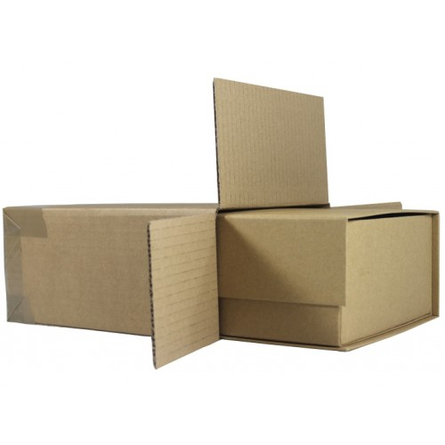 Cardboard Postal Boxes Gift Box Outer Cartons Fully