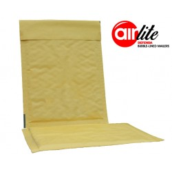 600 x ALG3 (215mm x 150mm) AirLite Gold Padded Envelopes (Bubble Lined Padded Mailers)