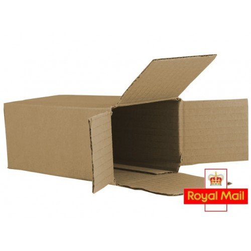 Fully Overlapping Postal Boxes Corrugated Postal Boxes