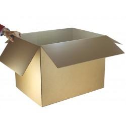 "Royal Mail Medium Parcels PiP Postal Box - (608mm x 460mm x 460mm) 23.9"" x 18.1"" x 18.2"" (appx EXTERNAL) - HEAVY DUTY - RM-MAXI-MPB"