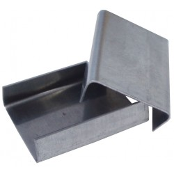19mm Snap On Strapping Seals / Clips - (For Steel Strapping)